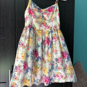 Flowery Sun Dress